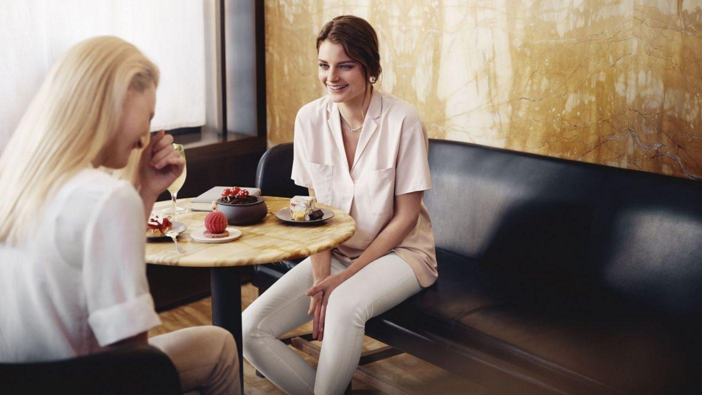 Mellom klokken 18 og 22:30 vil det bli servert tre ulike dessert-menyer i dessert-restauranten.