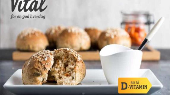 Møllerens lanserer D-vitamin til brød