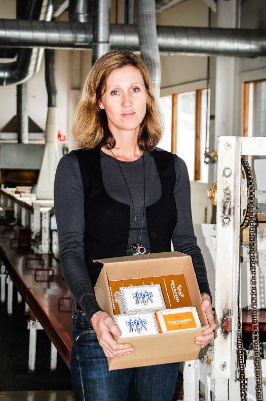 Camilla Rostad selger et produkt som har god vekst i markedet.
