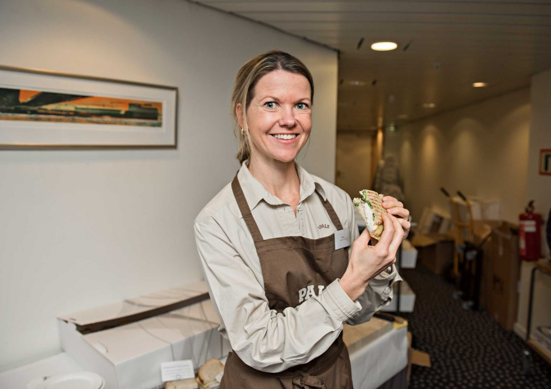 Havremelk er en annen nyhet, den er rik på fiber og laktosefri, forteller produktsjef Lise Raanaas (bildet) i Pals AS.