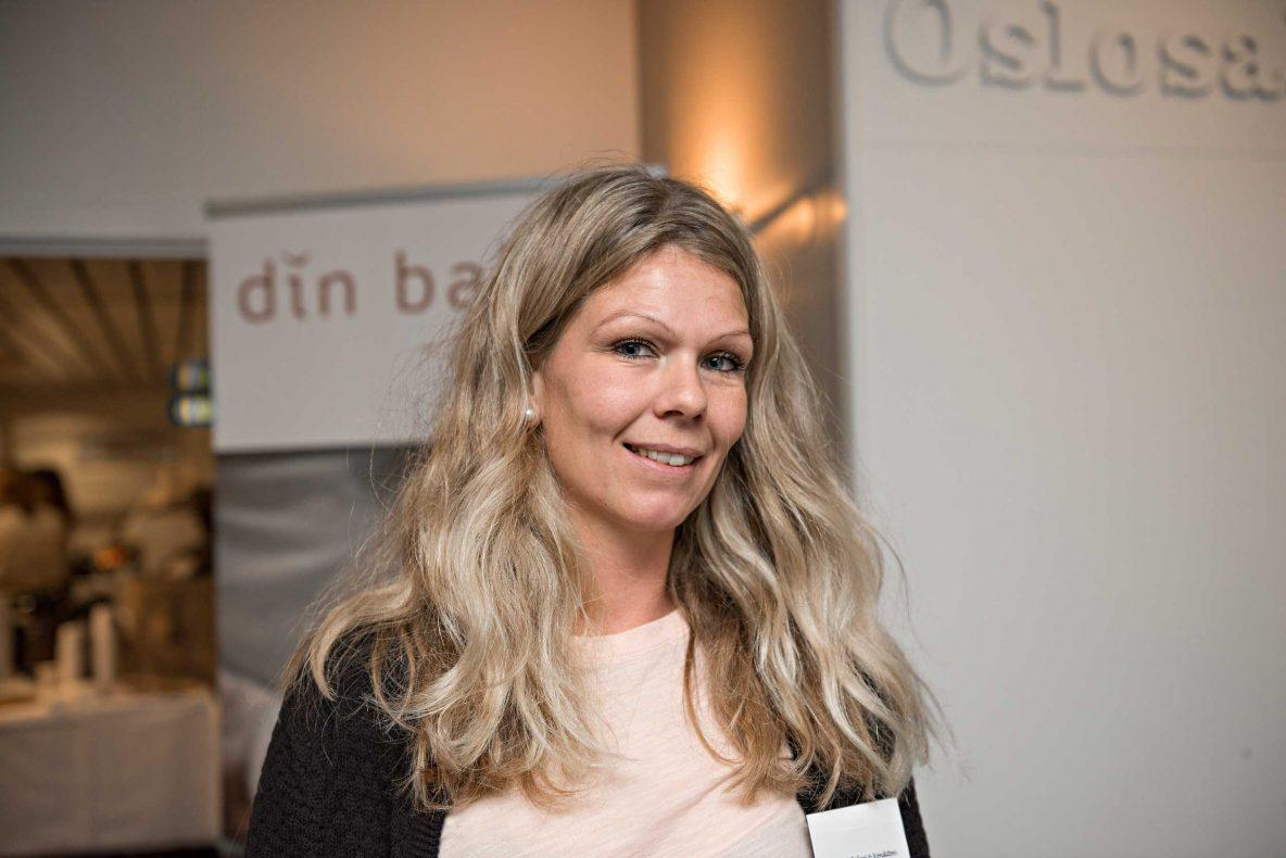 Kathrine Schmidt fra Edgars Bakeri deltar på samlingen sammen med tre kolleger.