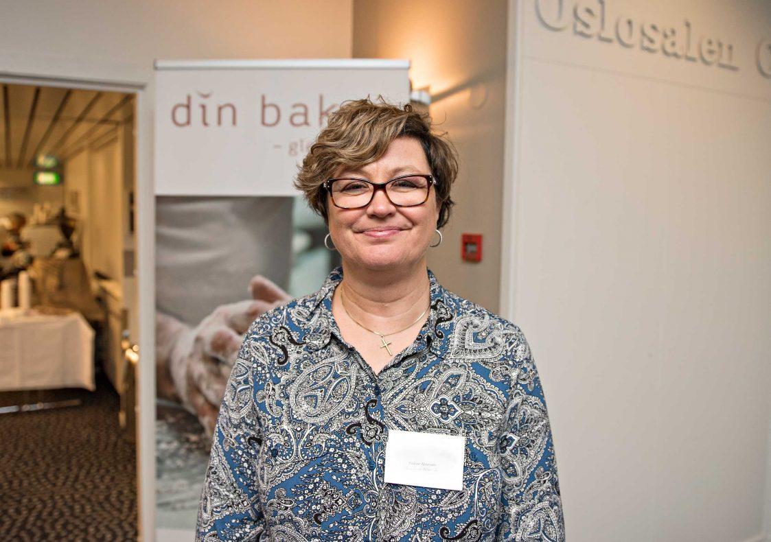 Bakeriansatt Reidun Brevik føler seg inspirert av samlingen. Hun er med i gruppen på seks medarbeidere fra Baker Narum i Hønefoss.