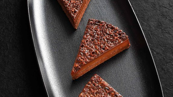 Inkainspirert sjokoladekake med fruktganache