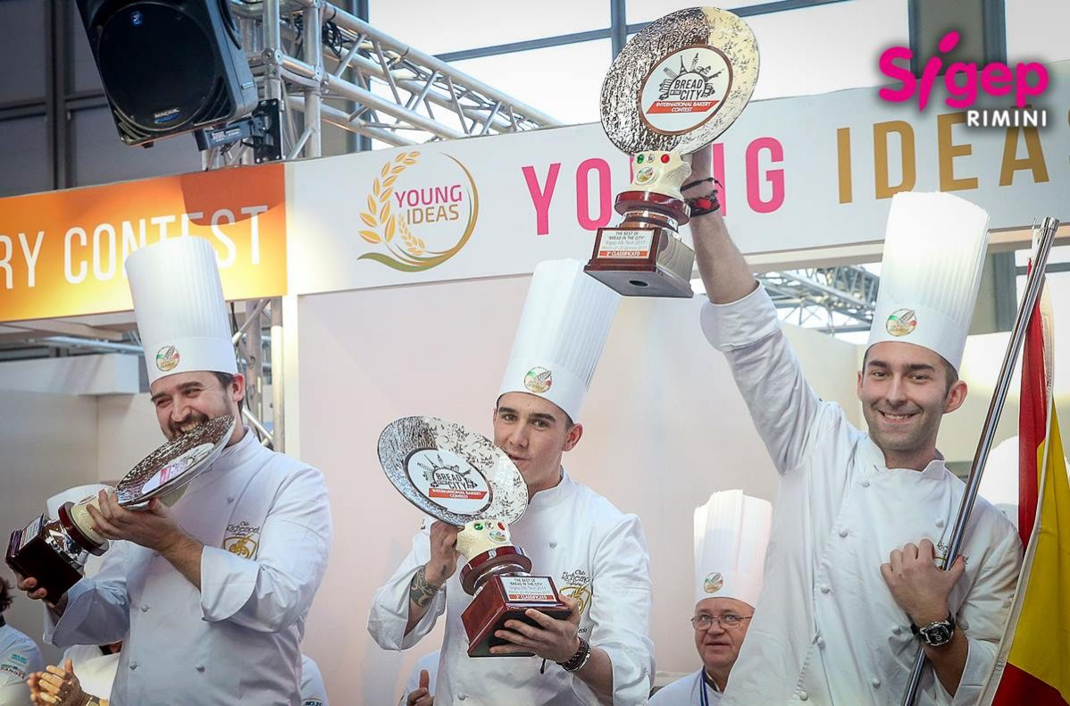 Spania kom på andreplass i bread in the city, Sigep international bakery contest 2017.