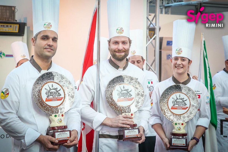 Tredjeplass i den internasjonale bakekonkurransen bread in the city: Sveits