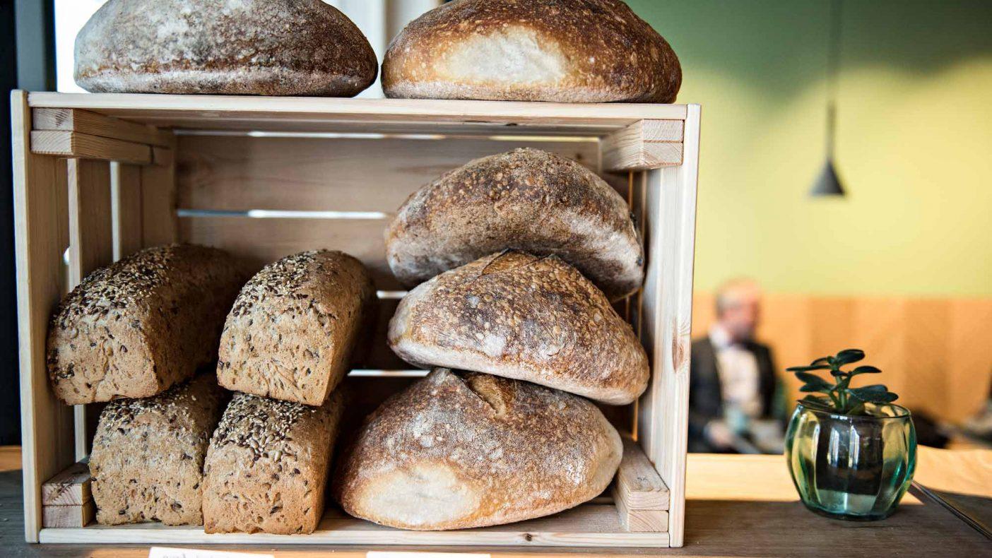 Lekre brød er det første kundene møter når de kommer inn døren på Nords nyeste utsalg på Helsfyr i Oslo.