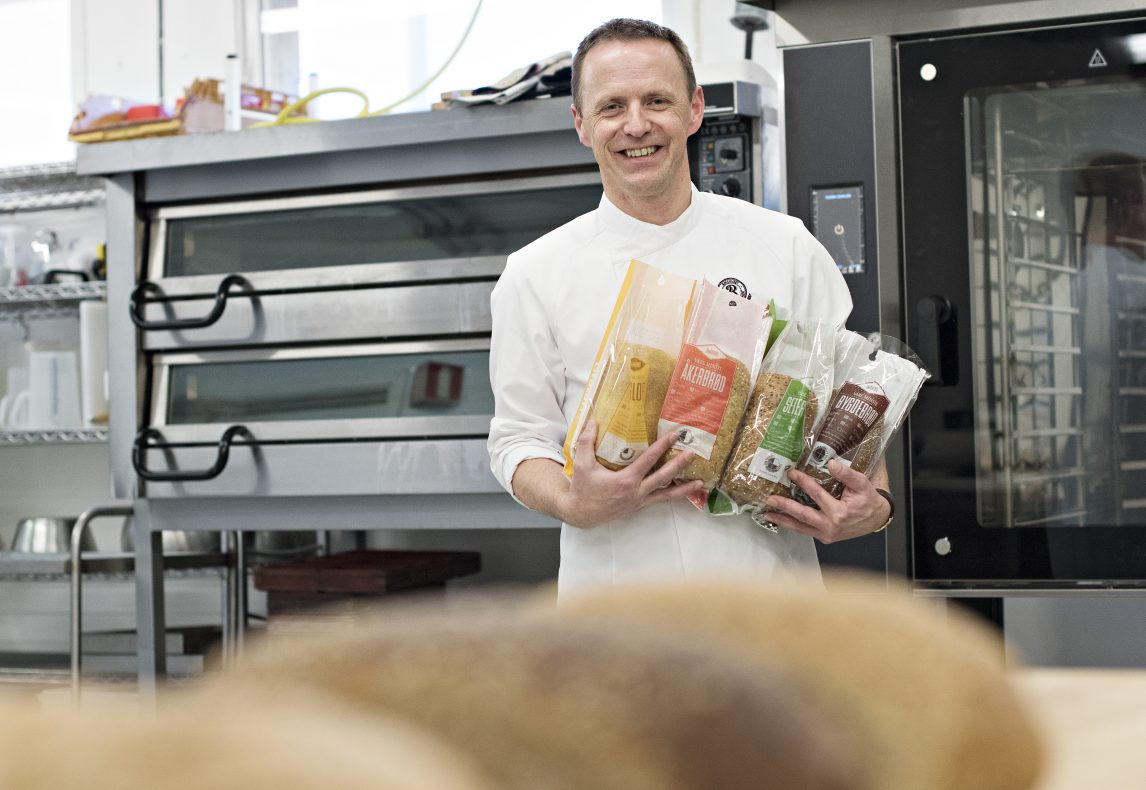 Amund Skrutvold, produktutviklersjef i Bakehuset