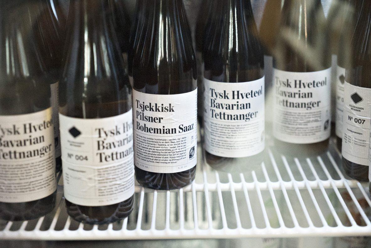 Kolonihagen Bryggeri lager pils, hveteøl og IPA. Ølet selges også i Rema 1000.