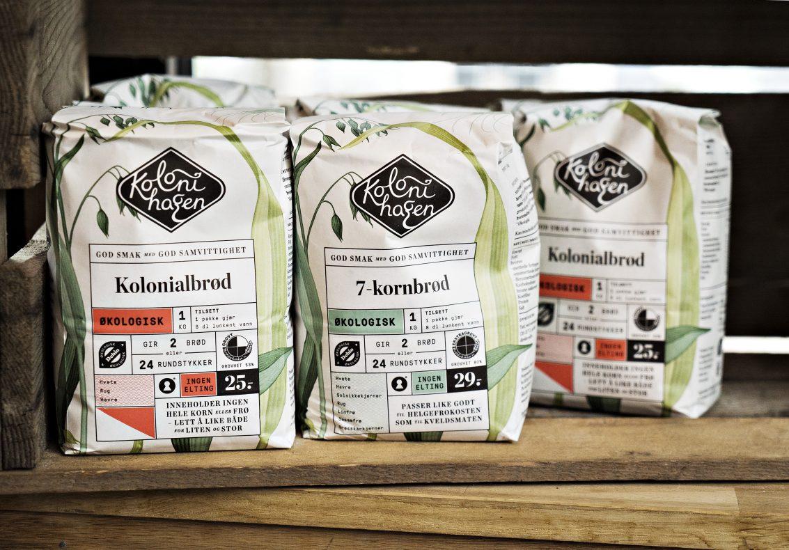 Bakemiksene selges i Rema 1000 nasjonalt, via nettbutikken og i utsalget på Lilleborg.
