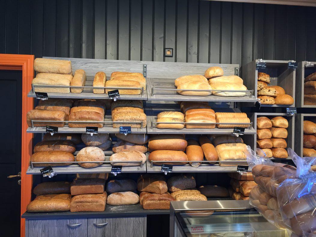 Ferskhet som konsept: Brød og bakervarer skal være helt ferske hele dagen. Et godt utvalg av brød inngår også i konseptet.