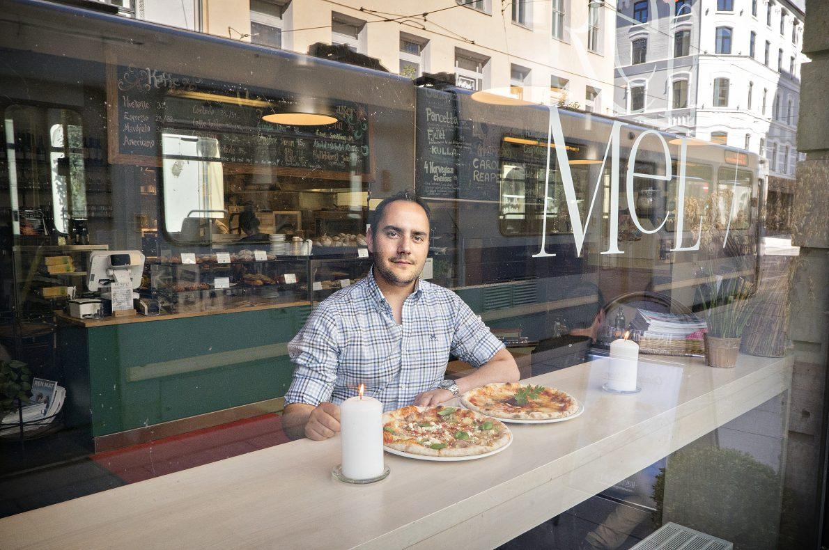 Hector Guardia, daglig leder hos Rent Mel, er brennende opptatt av ærlig og økologisk mat.