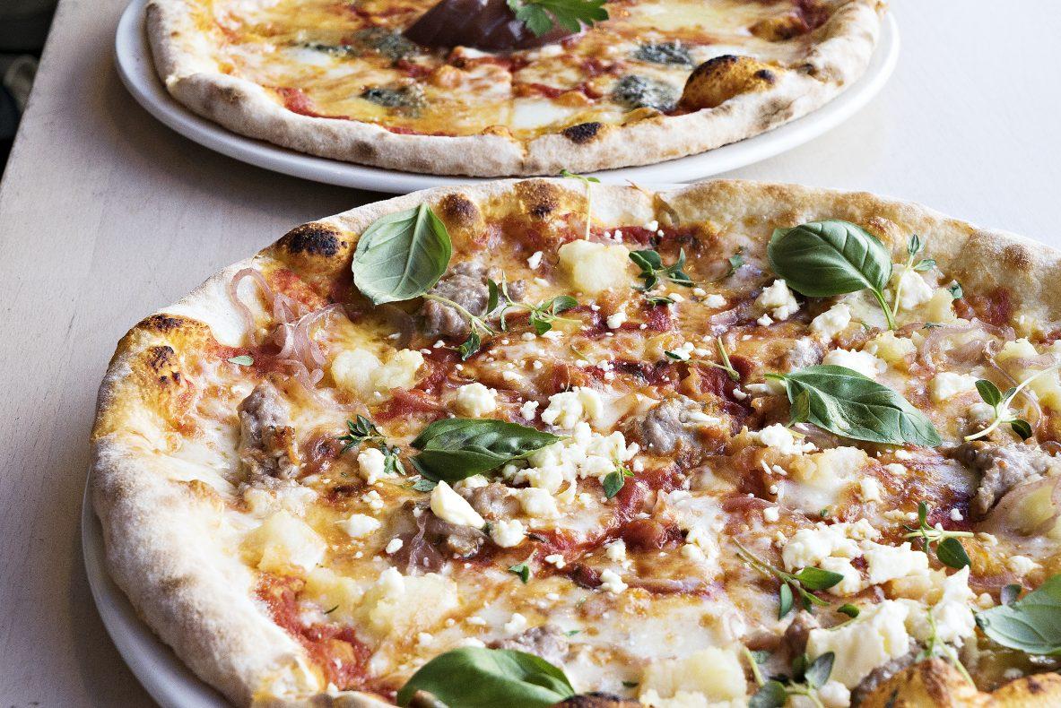 Pizzautvalget er stort og variert hos Rent Mel.