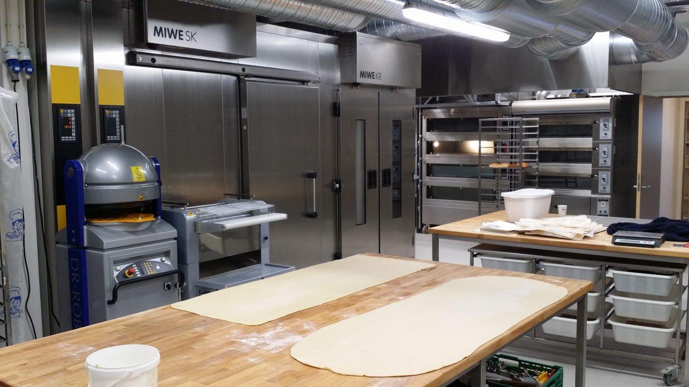 Christensen har investert i maskiner fra den tyske produsenten Miwe.