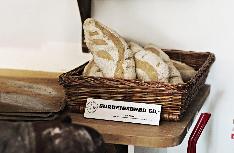 I sommersesongen er det tilgjengelig ni-ti sorter brød, men det på i lavsesongen er tre-fire.