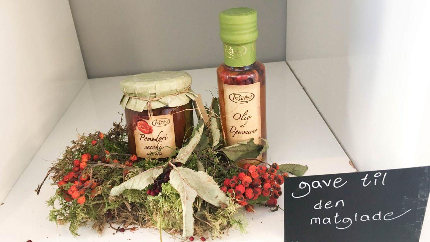 Rita Bakken er Italia-frelst, og det synes i bakeriet, hvor hun også selger en del italienske kvalitetsprodukter som oljer og pesto.