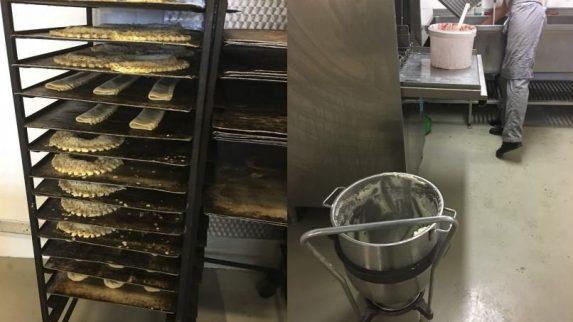 Bakeri ble stengt av politiet