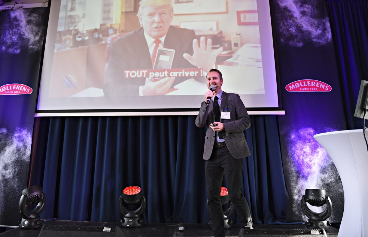 Richard Cope fra Mintel på Møllerens inspirasjonsdag.