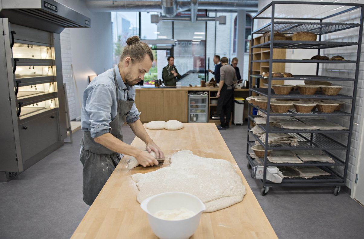 Martin Ivar Hveem Fjeld, daglig leder og baker i Ille Brød