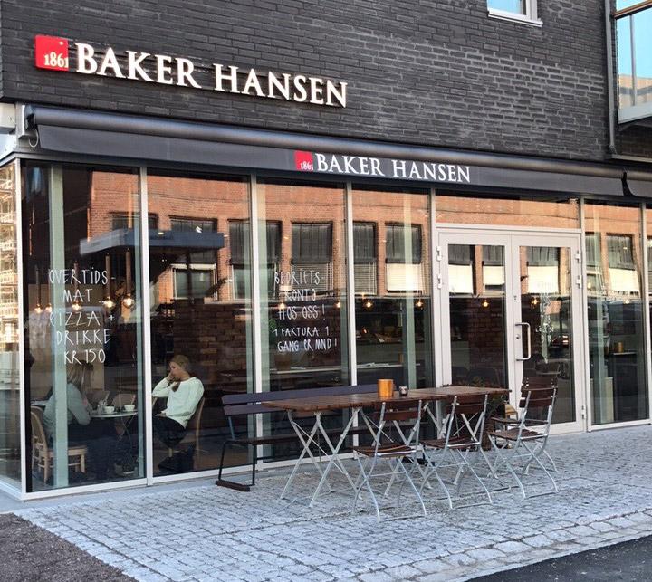 Baker Hansens nye butikk på Løren ble offisielt åpnet 15. september. Lokalet er hele 190 kvadratmeter stort.