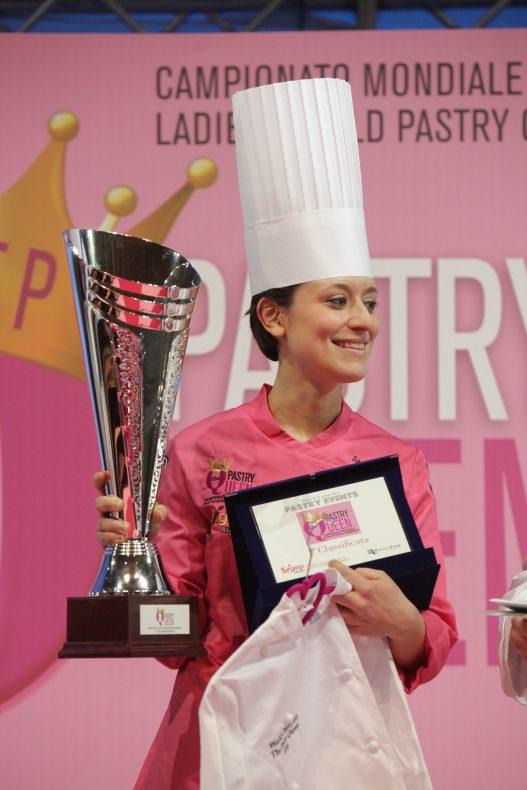 Silvia Boldetti fra Italia vant Pastry Queen 2016.