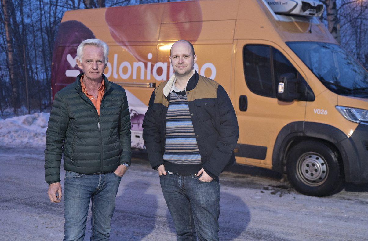 Sammen med Kolonial.no skal Gjermund Østby og Torstein Aase Johnsen levere så ferske bakervarer som mulig til kundene.