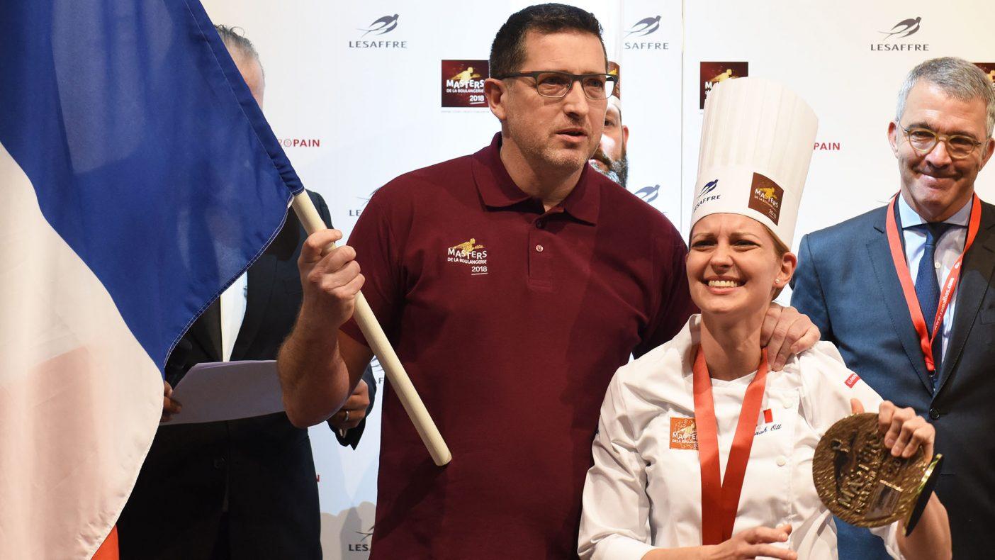 Débora Ott fra Frankrike vant kategorien Gourmet baking under Masters de la Boulangerie 2018.