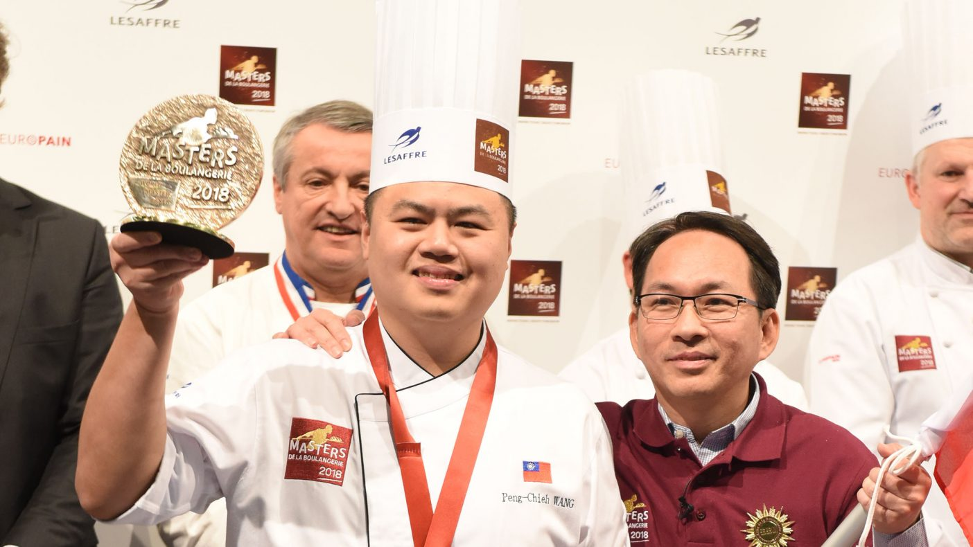 Peng-Chieh Wang fra Taiwan vant kategorien Artistic bread under Masters de la Boulangerie 2018.