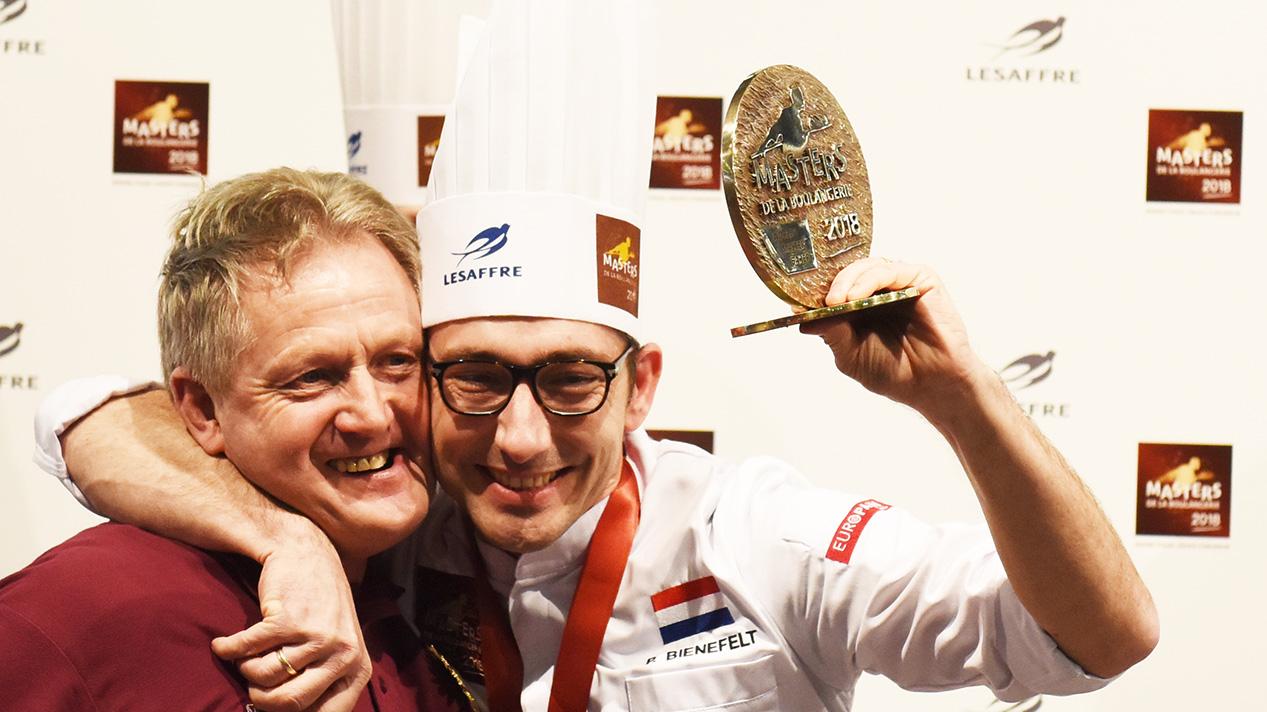 Peter Bienefelt fra Nederland vant kategorien Nutritional Bread under Masters de la Boulangerie 2018.
