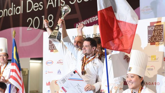 Frankrike vant konditor-VM