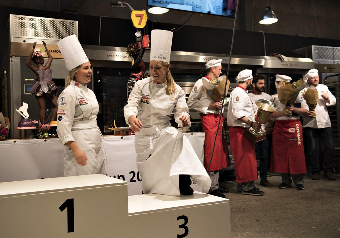 Norges Konditorlandslag endte på tredje plass i konkurransen. Dermed ble det samme plassering som i Stockholm i 2017.