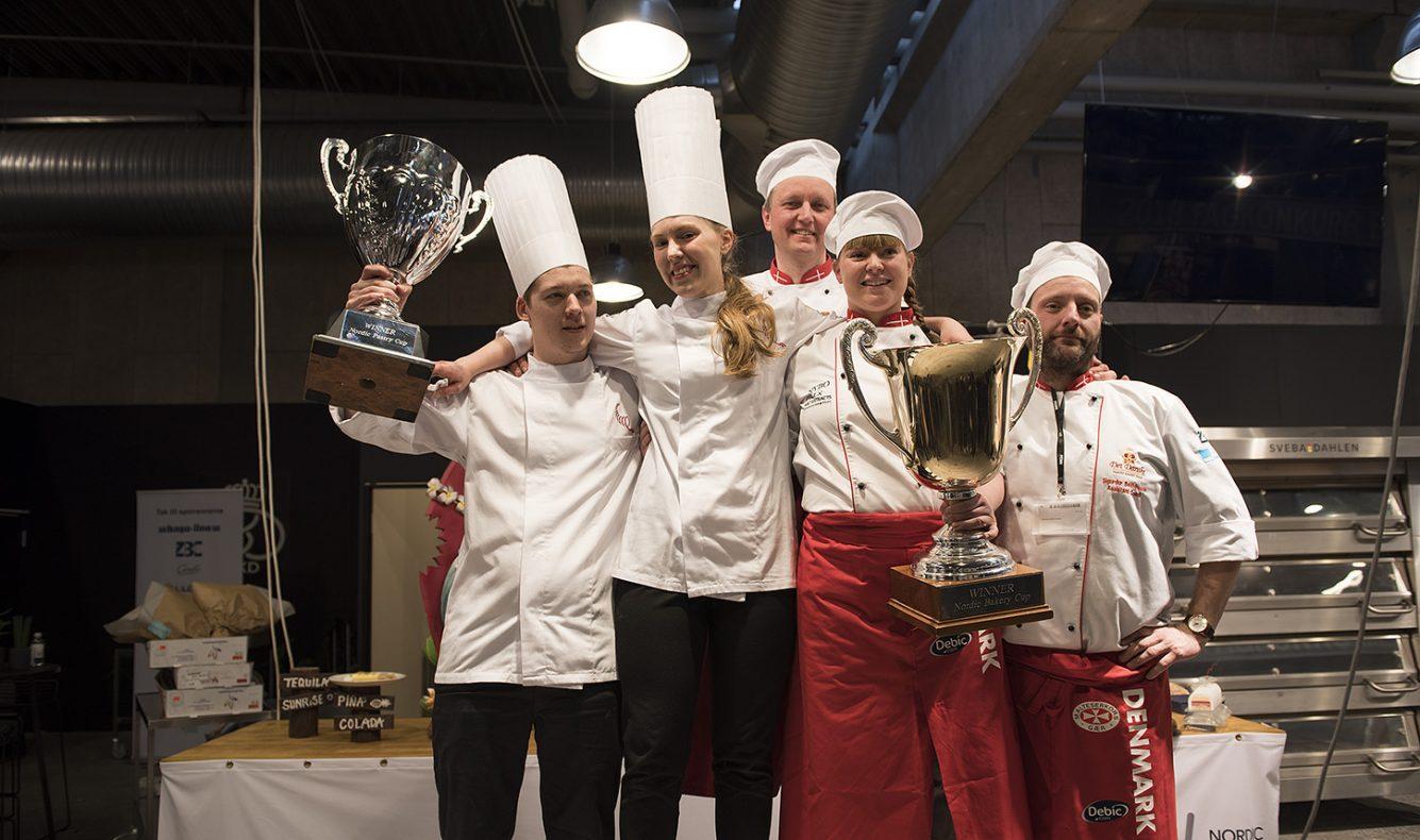 Danmark tok storeslem på hjemmebane og vant både konditor og bakeklassen i Nordic Bakery and Pastry Cup 2018.