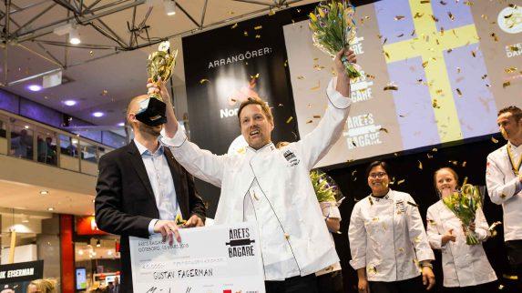 Han er årets beste baker i Sverige