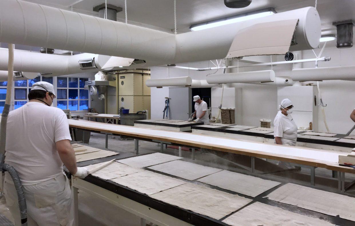 Flatbrødbakeriet har seks ansatte.