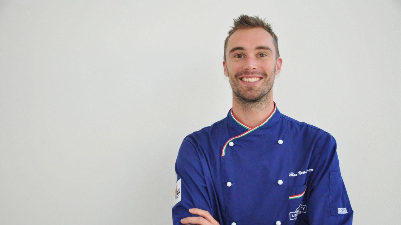 Bas Van Haaren fra Gelato University skal holde gelatokurs sammen med Tines Bernhard Azinger i Oslo 23. mai.