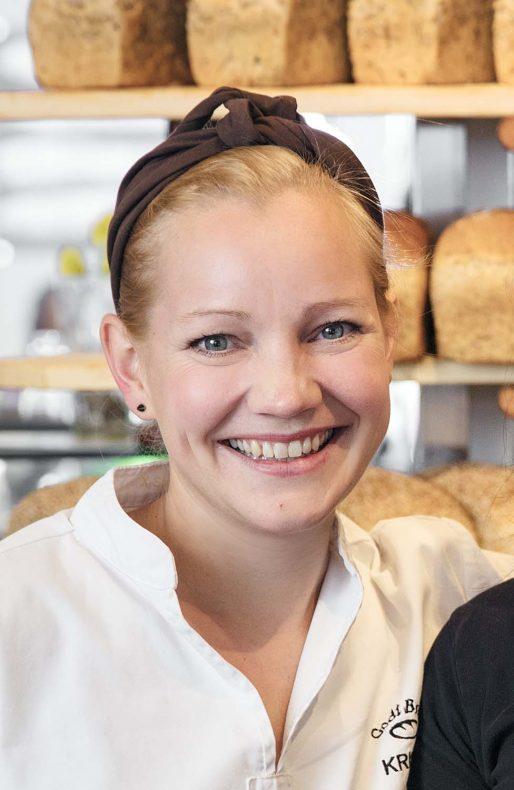 Kristin Larsen er opptatt av å være raus med fordelene i lojalitetsprogrammet.