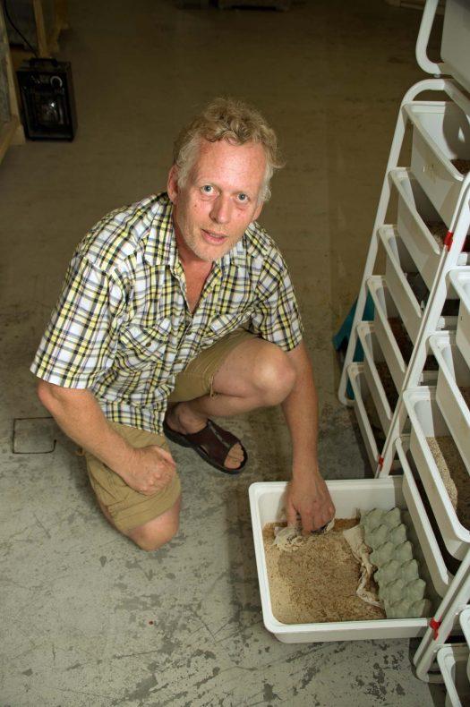 Thomas Rognstad begynte med insekter til fôr for sine egne vaktler – når er det mat til mennesker han satser på.