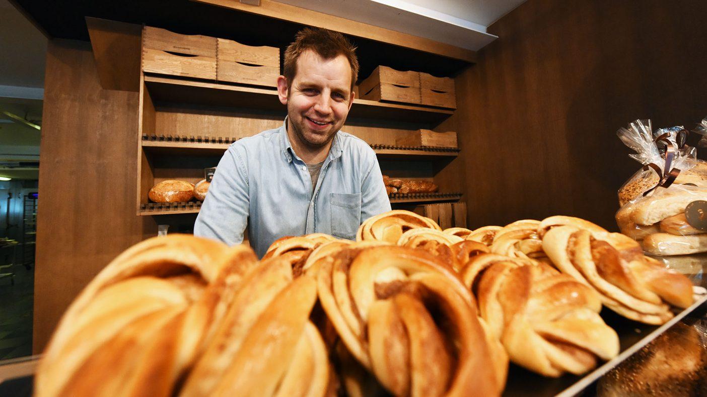 Torben Dam Krarup lover at den planlagte veksten ikke skal gå utover håndverket som bakeriet er kjent for.