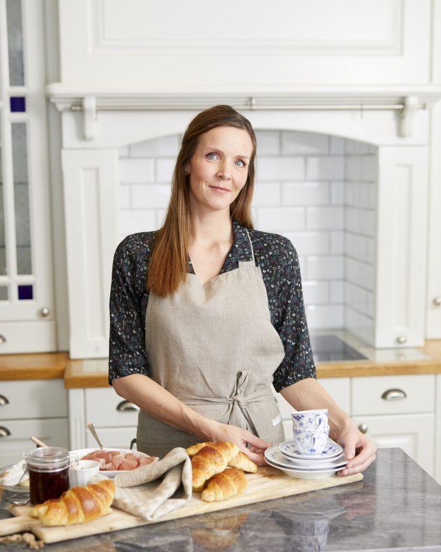 Kjersti Flatås starter croissantbakeriet Moulangerie hjemme på gården sin i Melhus til høsten.