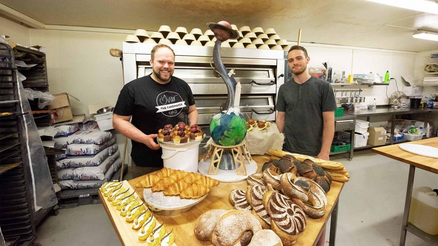 Ivar Bakke og Nikolai Meling er i rute til VM i september. De kjører nå hele programmet innenfor tiden og nå gjenstår finpussing på de ulike produktene.