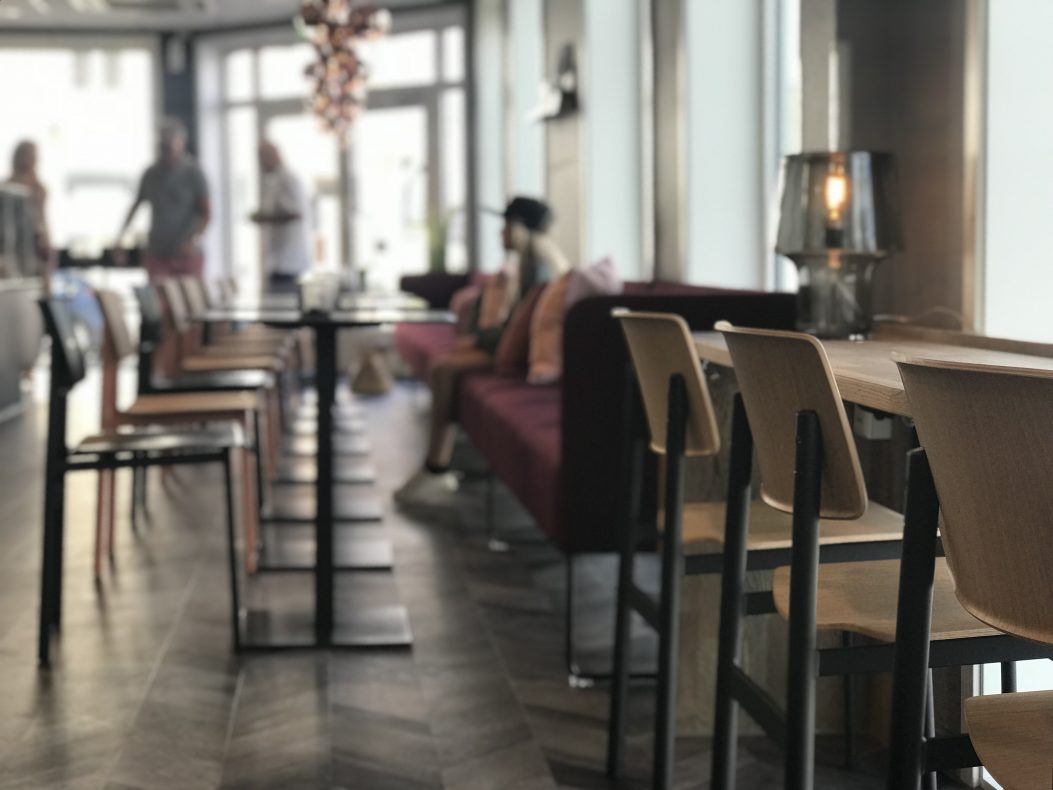 Lokalet fremstår nå som lyst og luftig. Foto: Nordic State