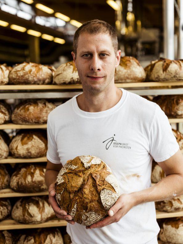 Joseph Weghaupt driver den populære østerrikske bakerikjeden Joseph Brot. Foto: Joseph Brot