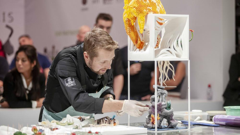 Tor Stubbe kom på 6. plass under World Chocolate Masters 2018.