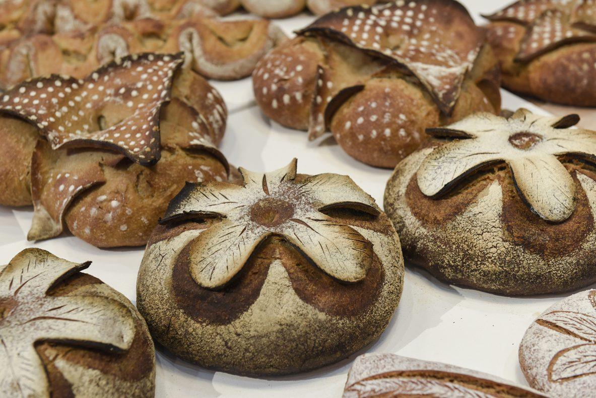 Flotte produkter fra det franske mesterskapet i baking under Sirha 2017.