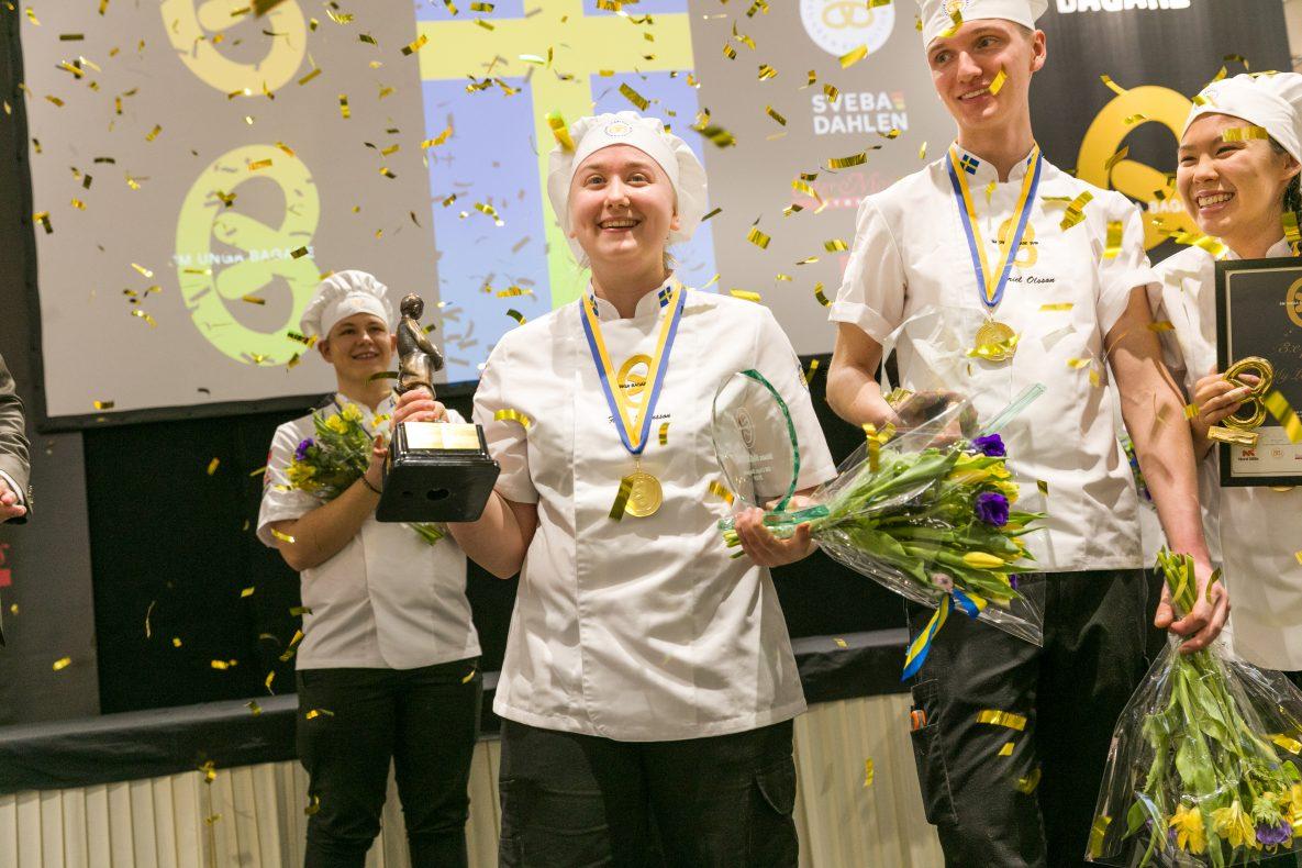 Fanny Johansson vant SM Unga Bagare 2019.