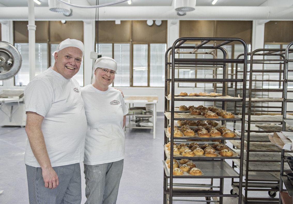 Klæbu Håndbakeri i Klæbu drives av ekteparet Frode og Ingrid Staum Gerhardsen.