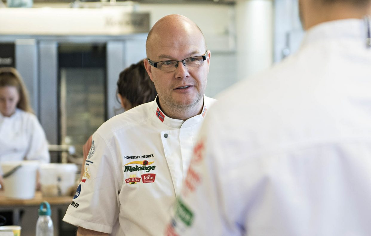 Kjetil Dale Aas er Baker- og Konditorlagets hovedtrener.