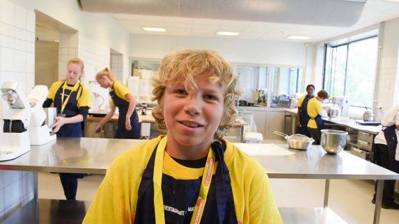 Sommerskole i bakeriet