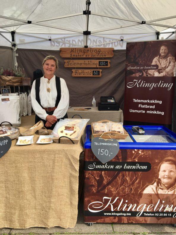 Gunn-Marit Krogsrud i Klingeling er en av flere bakeribedrifter som deltar på matfestivalen Matstreif i Oslo.