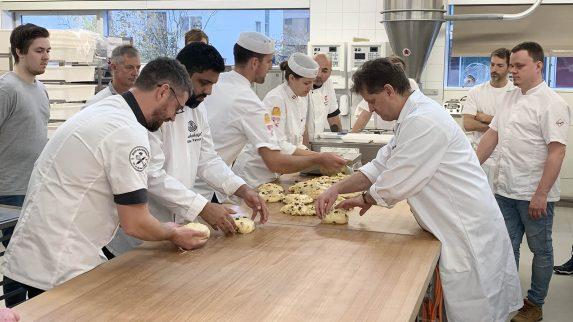 Fornøyde bakere på Richemontkurs i Luzern