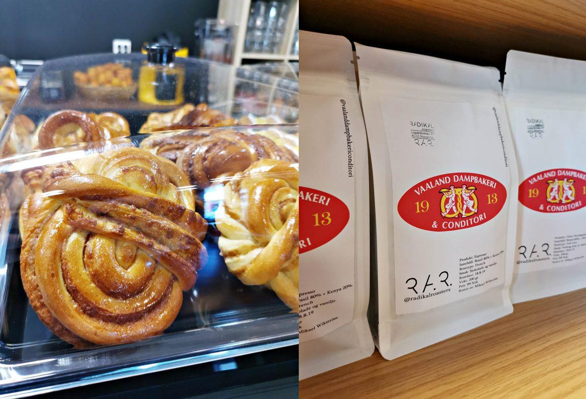 Bakervarer av høy kvalitet og signaturkaffe, brent av Radikal Roasters, er to typer produkter Vaaland skal satse mer på fremover.